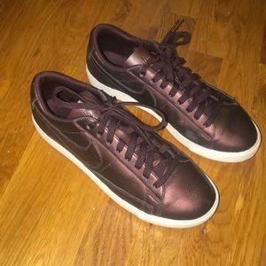 Dark Purple Nike's